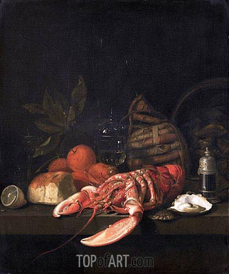 Still Life, 1668 | de Heem | Painting Reproduction