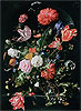 Flowers in a Glass Vase | Jan Davidsz de Heem