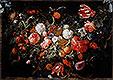 Still Life with Garland of Fruit and Flowers | Jan Davidsz de Heem