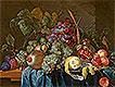 Still Life with Grape and Lemon | Jan Davidsz de Heem