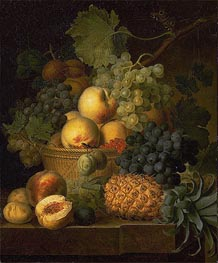 Basket of Fruit | van Dael | Painting Reproduction
