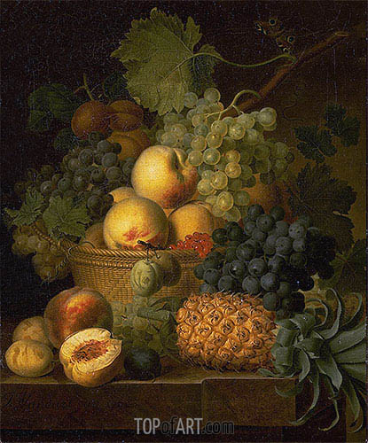 Basket of Fruit, c.1801/02 | van Dael | Painting Reproduction