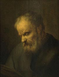 Portrait of a Man | Jan Lievens | outdated