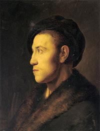 Portrait of a Young Man in Profile | Jan Lievens | outdated