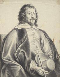 Portrait of Nicholas Lanier, undated von Jan Lievens | Gemälde-Reproduktion