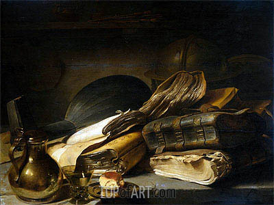 Vanitas Still Life, c.1620/30 | Jan Lievens| Painting Reproduction