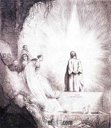 Jan Lievens | The Raising of Lazarus, undated