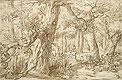 Forest Interior with Draftsman | Jan Lievens