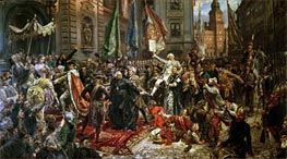 The Constitution of the 3rd May 1791, 1891 by Jan Matejko | Painting Reproduction