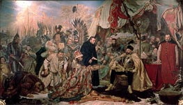 Bathory at Pskov | Jan Matejko | Painting Reproduction
