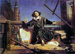 Astronomer Copernicus (Conversation with God) | Jan Matejko | Painting Reproduction