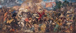 Battle of Grunwald, 1878 by Jan Matejko | Painting Reproduction