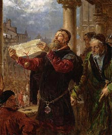 Judgment on Matejka, 1867 by Jan Matejko | Painting Reproduction