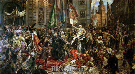 Jan Matejko | The Constitution of the 3rd May 1791, 1891