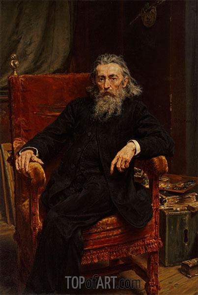 Jan Matejko | Selbstporträt, 1892