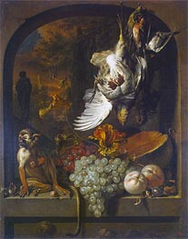 Still Life, undated von Jan Weenix | Gemälde-Reproduktion