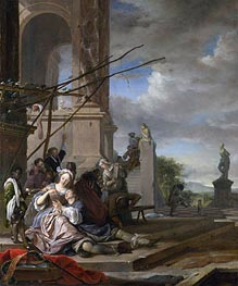 An Italian Courtyard | Jan Weenix | outdated