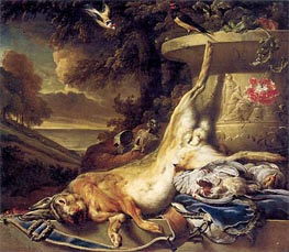 Dead Game, c.1691/96 by Jan Weenix | Painting Reproduction