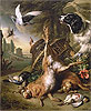 Still Life with Dead Game and Hares | Jan Weenix
