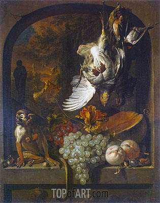 Still Life, undated | Jan Weenix| Painting Reproduction