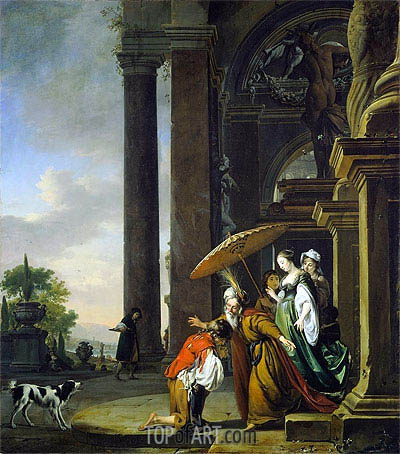 The Return of the Prodigal Son, c.1665/69 | Jan Weenix| Painting Reproduction