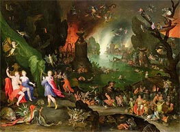 Orpheus in the Underworld, 1594 von Jan Bruegel the Elder | Gemälde-Reproduktion