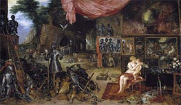 Touch, c.1617 von Jan Bruegel the Elder | Gemälde-Reproduktion