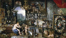 Sight (The Five Senses), 1617 von Jan Bruegel the Elder | Gemälde-Reproduktion