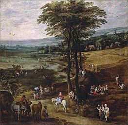 Country Life | Jan Bruegel the Elder | Painting Reproduction