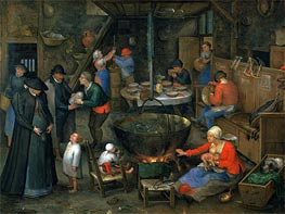 The Distinguished Visitor, Undated by Jan Bruegel the Elder | Painting Reproduction