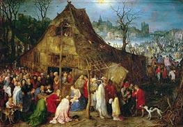 Adoration of the Magi, 1598 von Jan Bruegel the Elder | Gemälde-Reproduktion