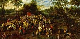Wedding Banquet, 1623 von Jan Bruegel the Elder | Gemälde-Reproduktion