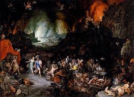 Aeneas and the Sibyl in the Underworld, c.1600 von Jan Bruegel the Elder | Gemälde-Reproduktion