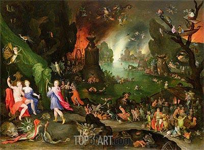 Orpheus in the Underworld, 1594 | Jan Bruegel the Elder | Gemälde Reproduktion