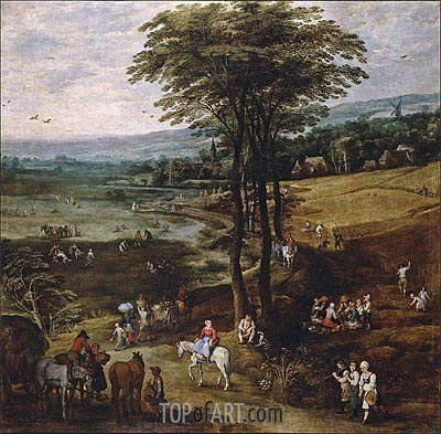 Country Life, c.1620/22 | Jan Bruegel the Elder | Gemälde Reproduktion