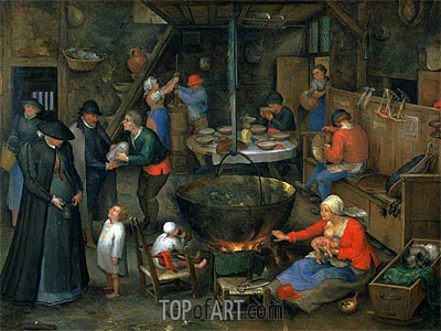 The Distinguished Visitor,  | Jan Bruegel the Elder | Painting Reproduction