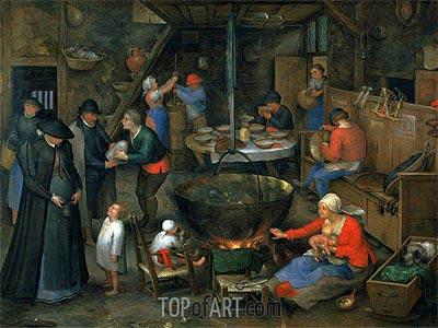 Jan Bruegel the Elder | The Distinguished Visitor,