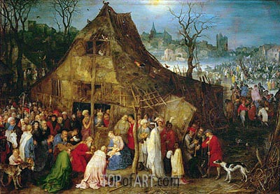 Adoration of the Magi, 1598 | Jan Bruegel the Elder| Gemälde Reproduktion