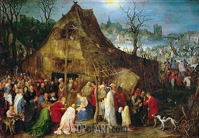 Jan Bruegel the Elder | Adoration of the Magi, 1598