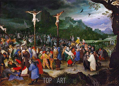 Jan Bruegel the Elder | Crucifixion, c.1595