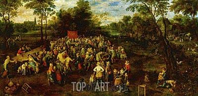 Jan Bruegel the Elder | Wedding Banquet, 1623