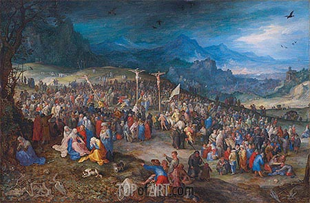 Calvary, 1598 | Jan Bruegel the Elder| Gemälde Reproduktion