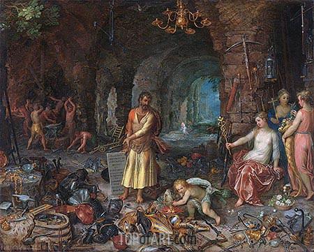 Jan Bruegel the Elder | The Prophecy of Isaiah, 1609