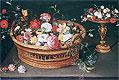 A Basket of Flowers | Jan Bruegel the Elder