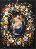 Garland with the Virgin, the Christ Child and two Angels | Jan Bruegel the Elder