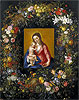Garland with the Virgin and Child | Jan Bruegel the Elder