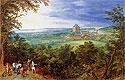 Landscape with the Chateau de Mariemont | Jan Bruegel the Elder