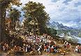 A Village Festival | Jan Bruegel the Elder