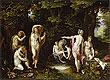 Diana and Aktaion | Jan Bruegel the Elder