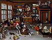The Archdukes Albert and Isabella Visiting a Collector's Cabinet | Jan Bruegel the Elder